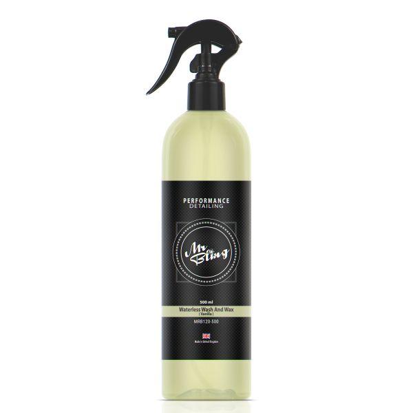 Waterless Wash And Wax Vanilla Scented 500ml